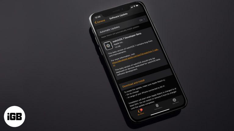 Как скачать watchOS 7 Beta 1 без учетной записи разработчика
