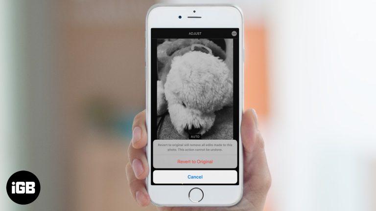 Как удалить фильтры и эффекты с фотографий на iPhone или iPad