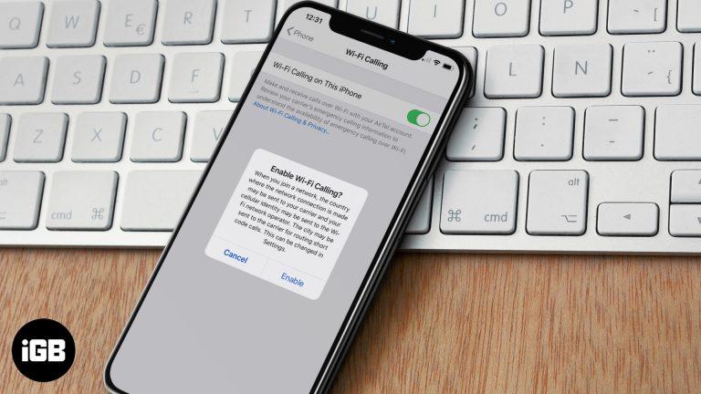Как включить WiFi-вызов на iPhone и других устройствах