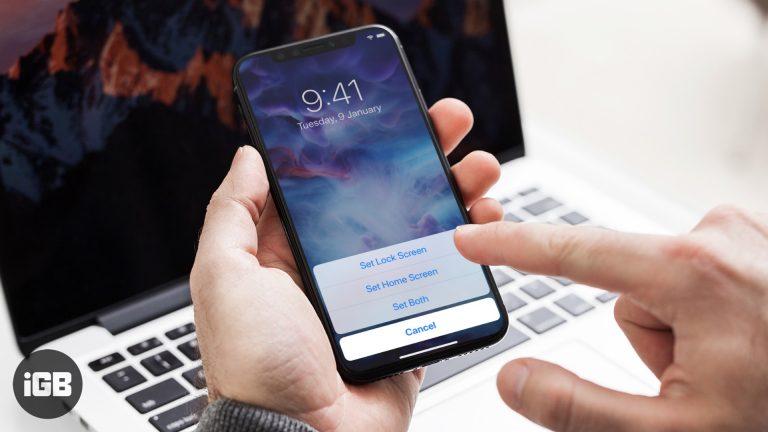 Как использовать живые обои на iPhone