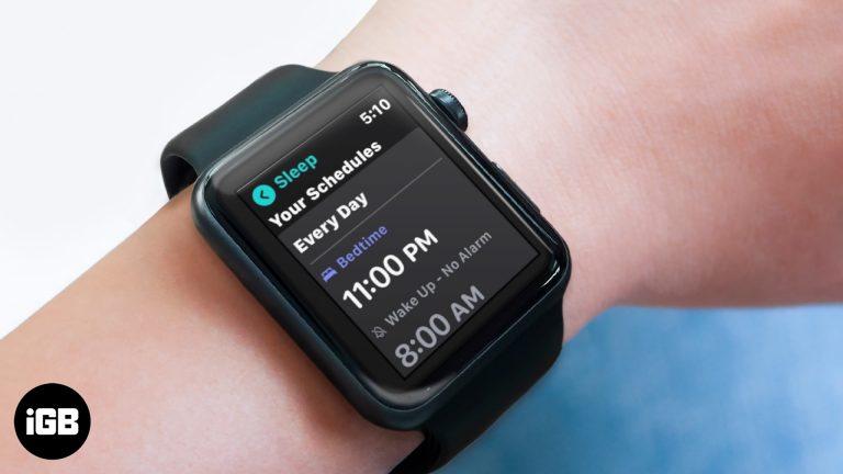 Как использовать отслеживание сна в watchOS 7