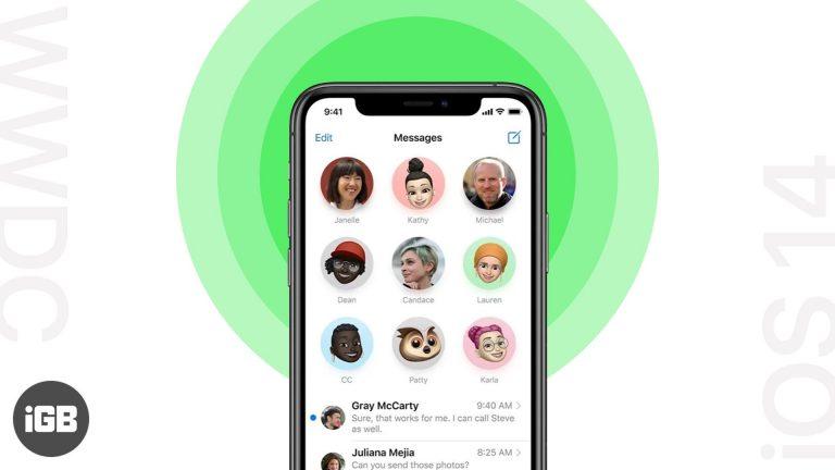 Как использовать приложение «Новые сообщения» в iOS 14