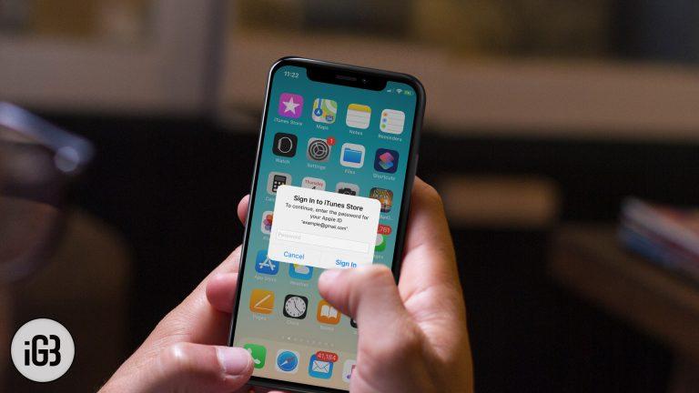 Как исправить iPhone продолжает запрашивать пароль Apple ID