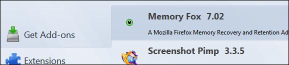 Memory Fox 7.02 для Firefox