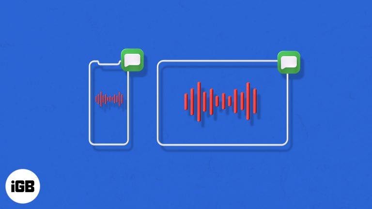 Как отправить голосовое сообщение на iPhone и iPad