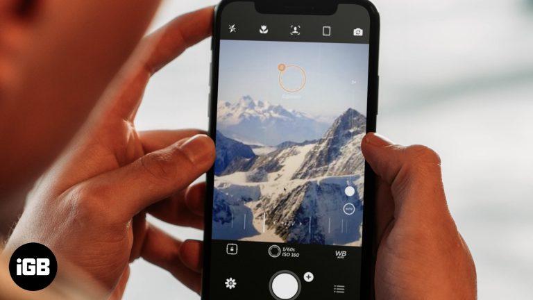 Лучшие приложения ручной камеры для iPhone в 2020 году