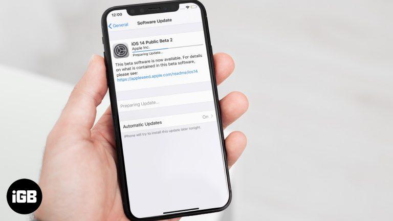 Как исправить зависание iOS 14 в «Подготовка к обновлению …»