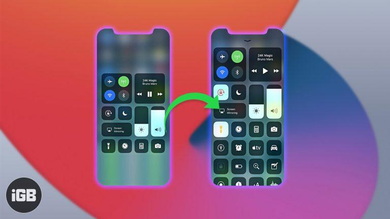 Как использовать Центр управления на iPhone (Ultimate Guide)