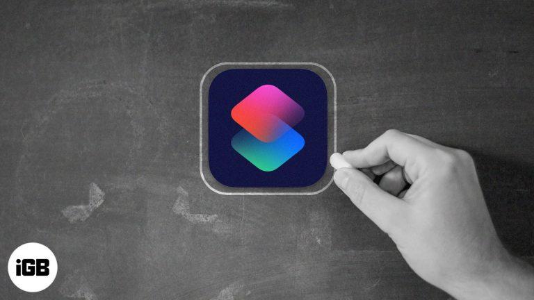 Как использовать приложение «Ярлыки» на iPhone и iPad
