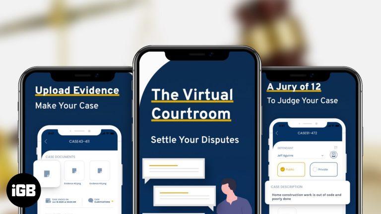 Приложение Jury для iPhone и Android: обзор виртуального суда