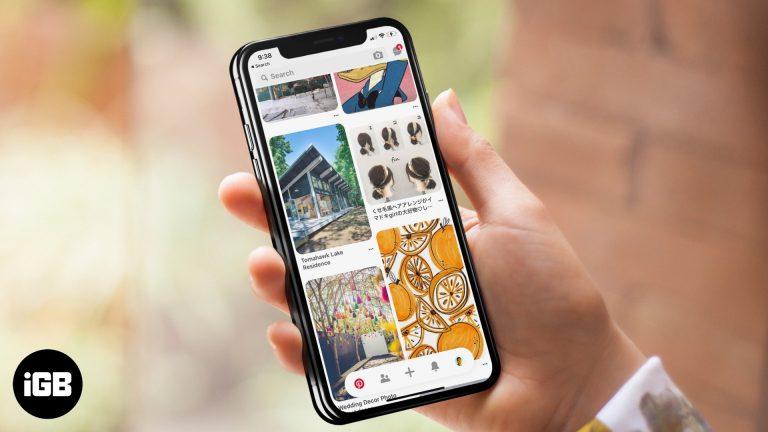 Приложение Pinterest не работает на iPhone и iPad: советы по его устранению