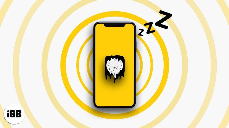 Не работает будильник iPhone?  Вот 11 решений, чтобы исправить это