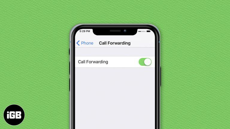 Как переадресовывать звонки на iPhone