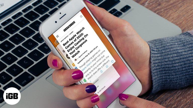 Safari медленно на iPhone и iPad?  Вот 8 решений, чтобы исправить это