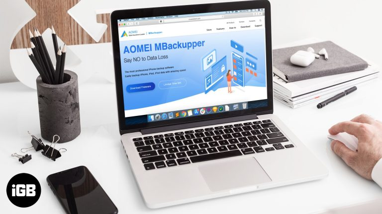 Обзор AOMEI mBackupper: резервное копирование данных iPhone с удивительной скоростью
