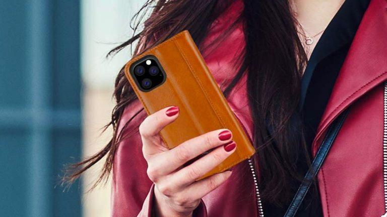 Лучшие кожаные чехлы для iPhone 11 Pro Max в 2020 году