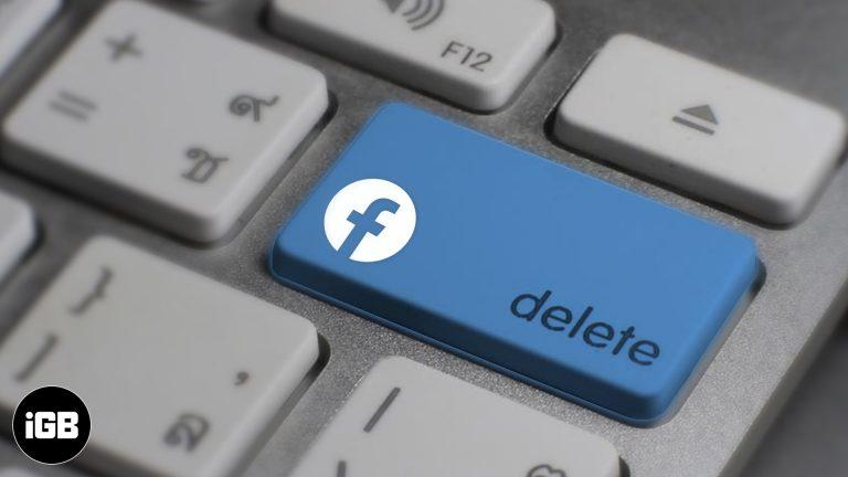 Как деактивировать или удалить свою учетную запись Facebook на iPhone или компьютере