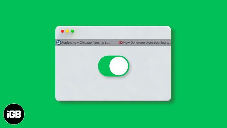 Как включить Favicons в Safari на iPhone, iPad или Mac
