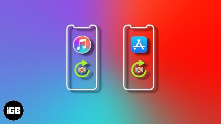Как получить возмещение за покупки в iTunes или App Store