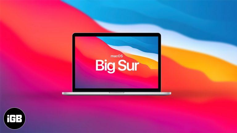 Как скачать публичную бета-версию macOS Big Sur 1
