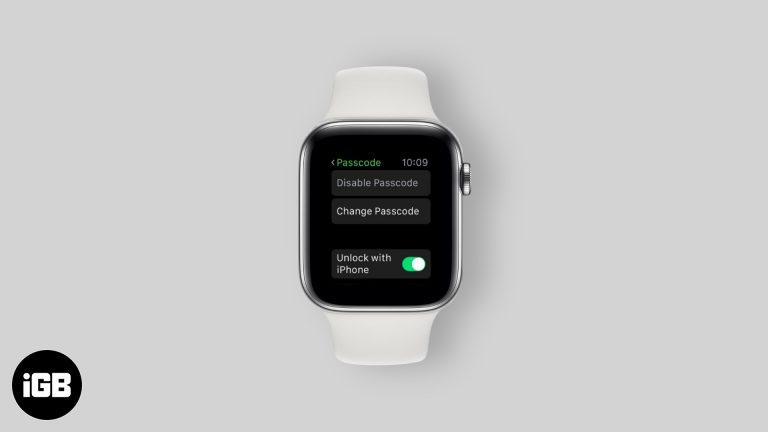 Забыли пароль к Apple Watch?  Вот как его сбросить