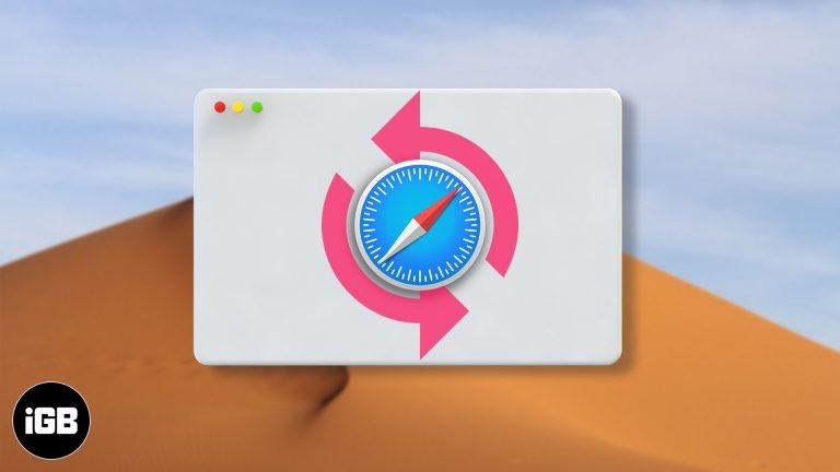 Как восстановить удаленные закладки Safari на Mac