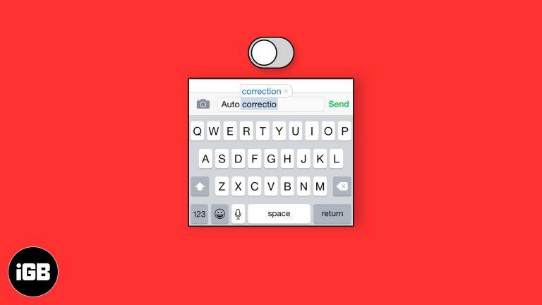 Как отключить автозамену на iPhone и iPad