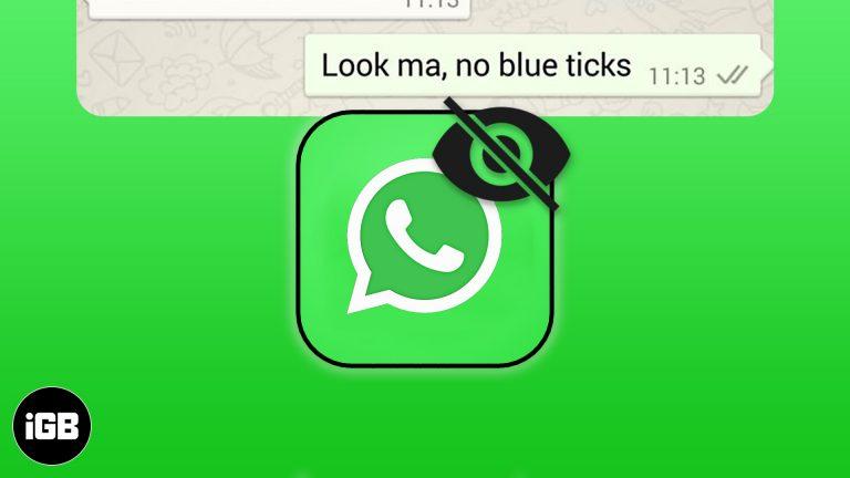 Как отключить уведомления о прочтении WhatsApp на iPhone