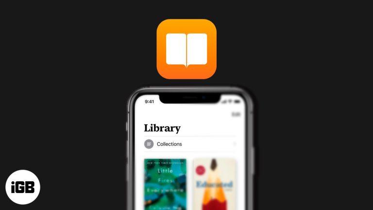 Как управлять своей библиотекой в Apple Books на iPhone и iPad