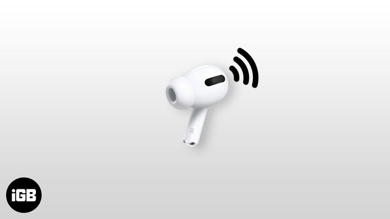Как использовать Live Listen с AirPods