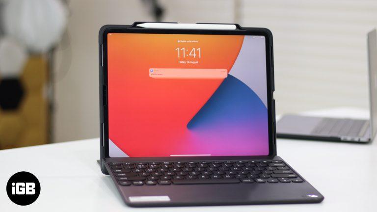 Zagg Rugged Book Go Съемный чехол-клавиатура для iPad Pro