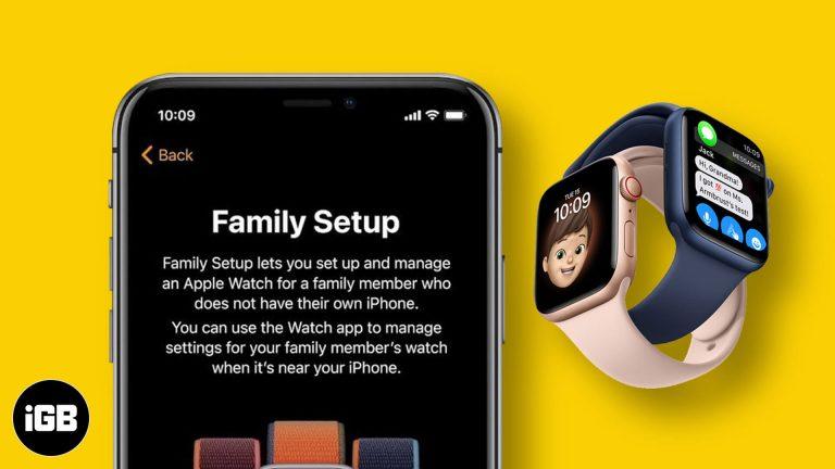Что такое настройка семейства Apple Watch и как она работает?