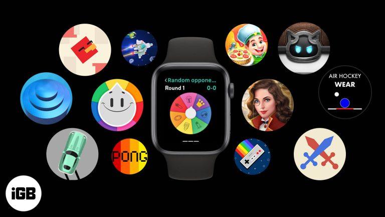 Лучшие игры для Apple Watch в 2020 году