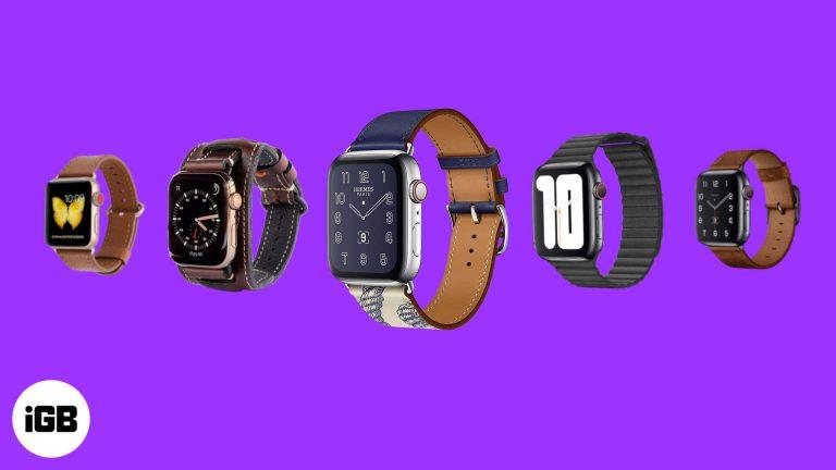 Лучшие кожаные ремешки для Apple Watch Series 5 в 2020 году