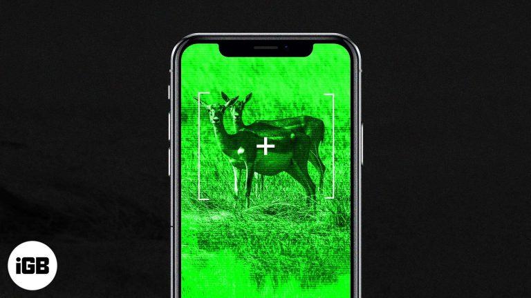 Лучшие приложения ночного видения для iPhone и iPad в 2020 году