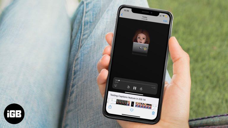 Как добавить подпись к фотографиям и видео в iOS 14 и iPadOS 14