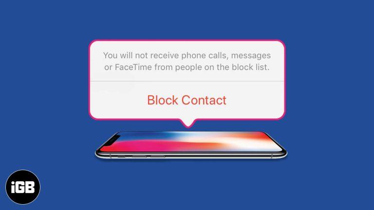 Как заблокировать номер на вашем iPhone: объяснение 3 методов
