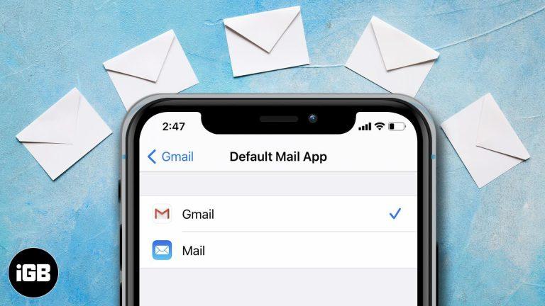 Как изменить почтовое приложение по умолчанию в iOS 14