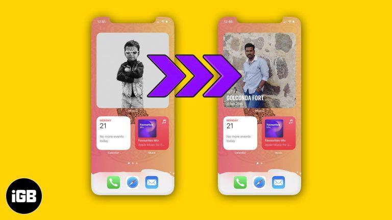 Как изменить избранную фотографию в iOS 14 на iPhone