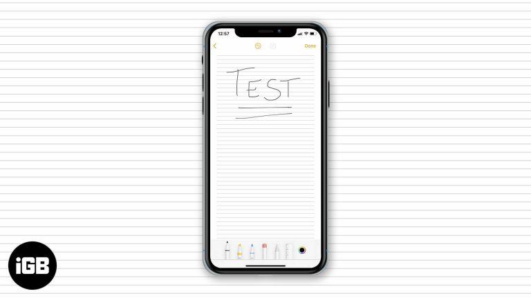 Как изменить стиль бумаги в приложении Notes на iPhone и iPad