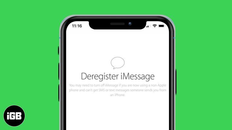 Как отменить регистрацию iMessage на iPhone или в Интернете