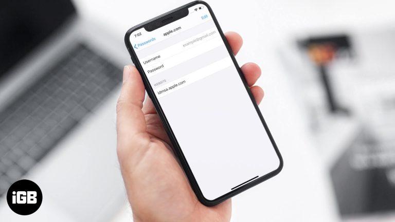 Как найти сохраненные пароли на iPhone и iPad