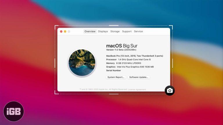 Как сделать снимок экрана на Mac (полное руководство)