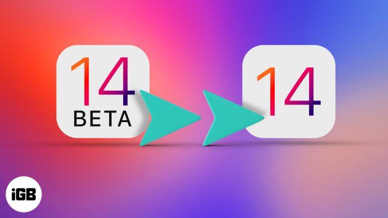 Как обновить бета-версию iOS 14 до официального выпуска