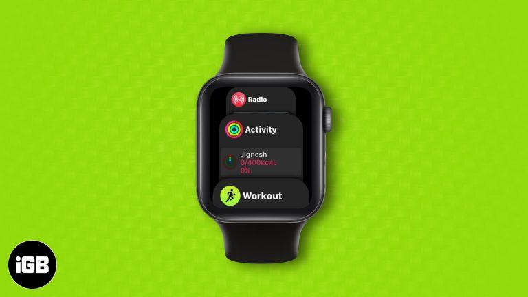 Как использовать док-станцию на Apple Watch в watchOS 7