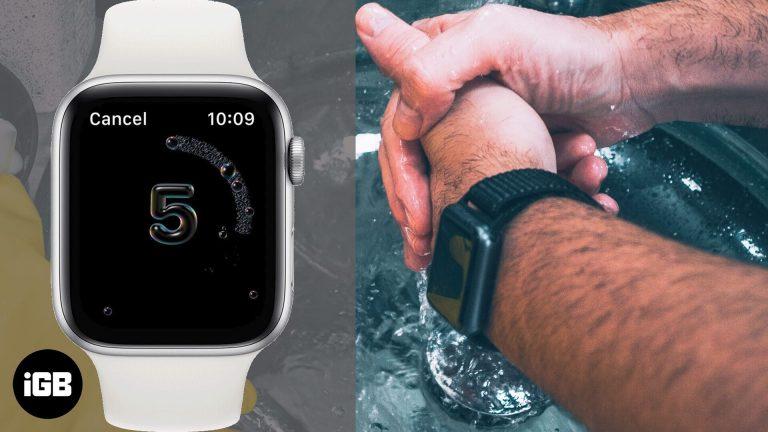 Как использовать функцию мытья рук в watchOS 7 на Apple Watch