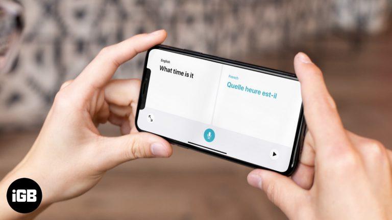 """Как использовать новое приложение """"Переводчик"""" в iOS 14"""
