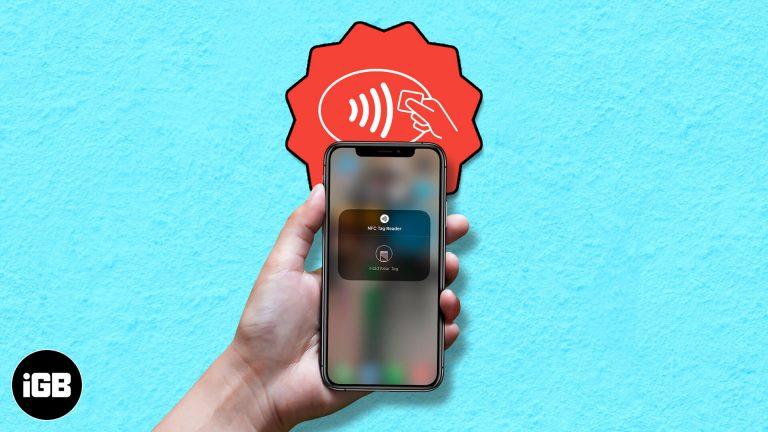 Что такое средство чтения тегов NFC в iOS 14 и как оно работает?