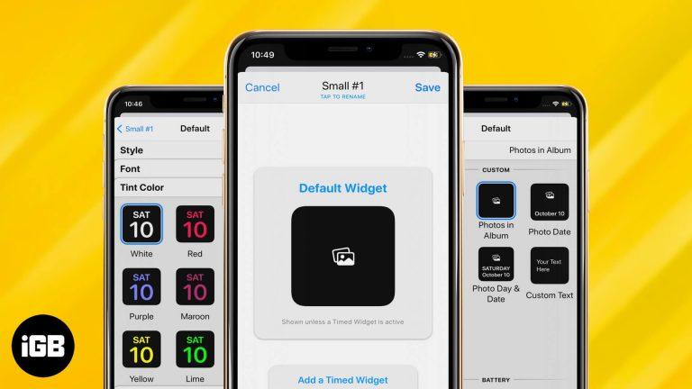 iOS 14: Как использовать приложение WidgetSmith на вашем iPhone