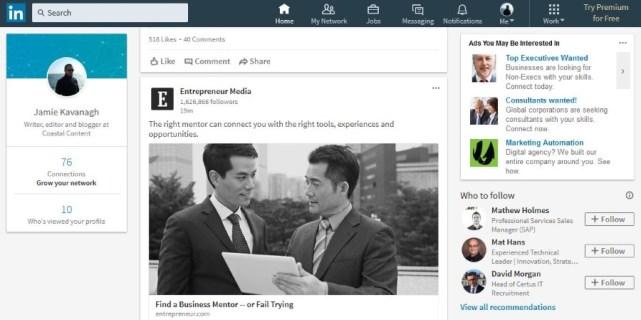 Как заблокировать кого-то в LinkedIn